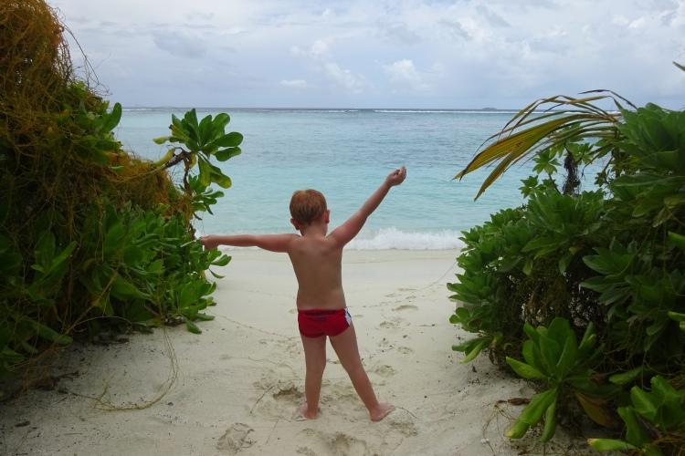 Maldive coi bambini low cost